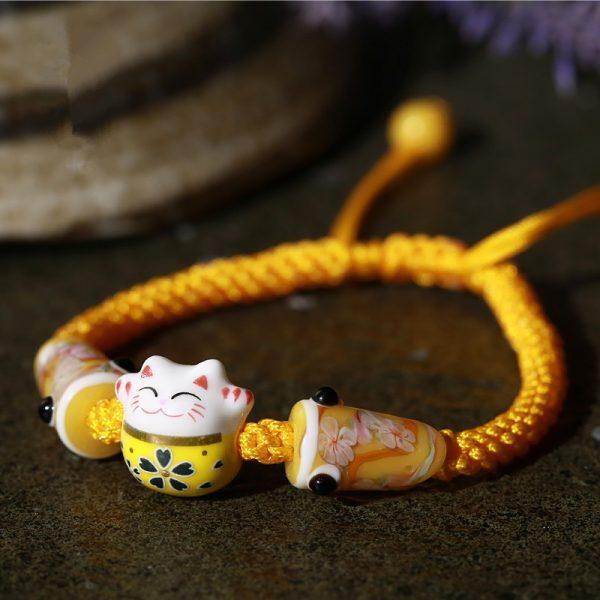 Jewelry Bohemia Cute Lucky Cat Bracelets