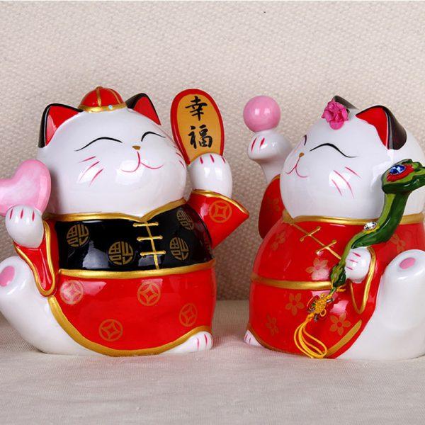 Good Married Couples Lucky Cat Maneki Neko