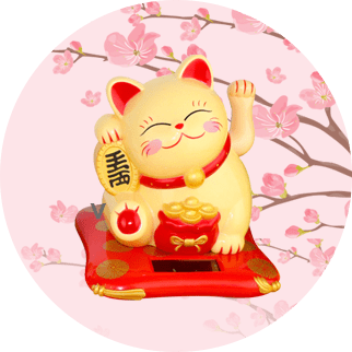 Maneki Neko Waving Cats