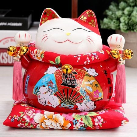 7 inch New Maneki Neko Chinese Lucky Cat