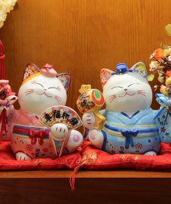 Best Seller Japanese Ceramic Maneki Neko Lucky Cats