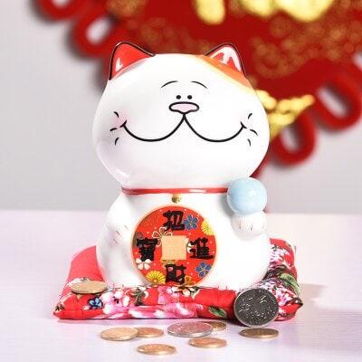 6 inch Japanese Maneki Neko Lucky Cat