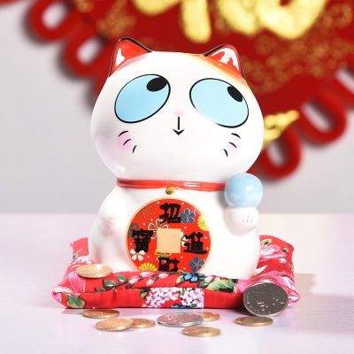 6 inch Lucky Cat Maneki Neko