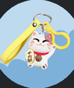 Maneki Neko Keychains