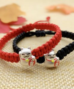 Lucky Cat Charm Bracelets For Women