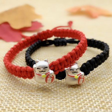 Lucky Cat Charm Bracelets For Women