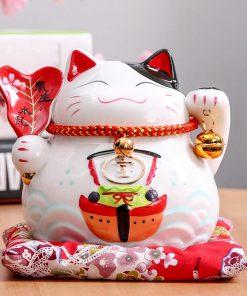 4.5 inch Maneki Neko Fortune Cat Home Decor