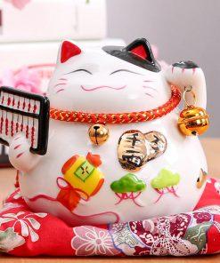 4.5 inch Adorable Maneki Neko Lucky Cat 2019 Home Decor