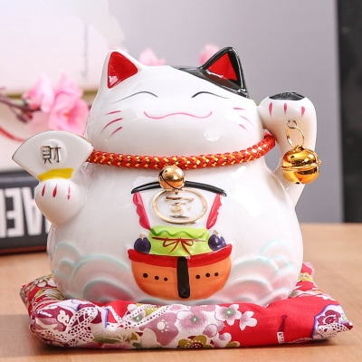 6 inch Maneki Neko Hot Lucky Cat