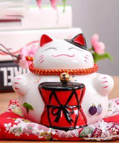 4.5 inch Cute Maneki Neko Lucky Cat