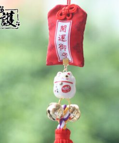 Lucky Cat Maneki Neko 2019 Car Hanging