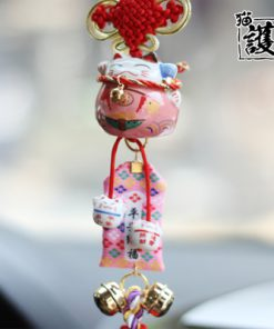 Hot Fortune Cat Maneki Neko 2019 Car Hanging