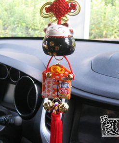 Car Hanging Ornament Maneki Neko 2019 Lucky Cat