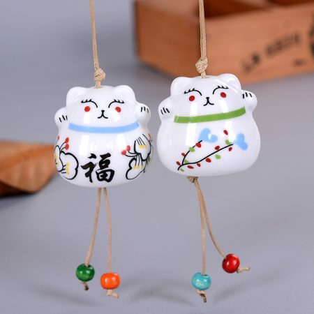 Best Seller Maneki Neko Lucky Cat Wind Chimes