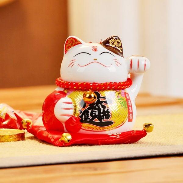 New 4 Inch Fengshui Cat 2019 Maneki Neko