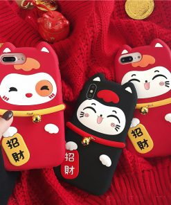 Lucky Cat Maneki Neko Adorable Iphone case