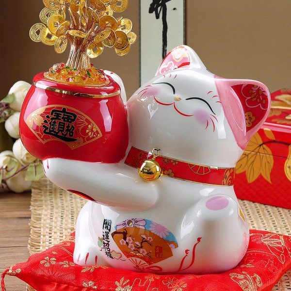 Money Tree Lucky Maneki Neko Lucky Cats