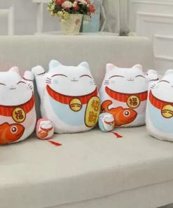 2019 Maneki Neko Pillow Soft Stuffed Plush