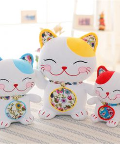 Lucky Cat Maneki Neko Hot Plush Toys