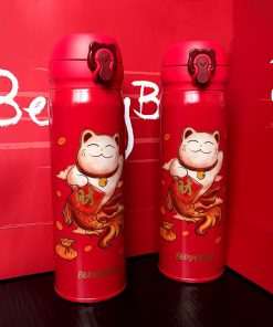 Maneki Neko New Year Festive Chinese Style Cup