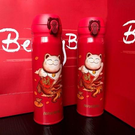 Maneki Neko New Year Festive Chinese Style Cup