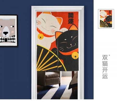 Best Seller Lucky Cat Door-Curtain