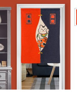 New Arrival Chinese Fortune Cat Door-Curtain