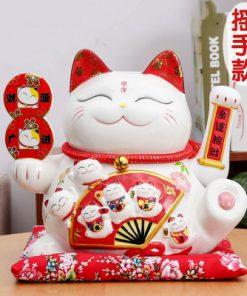 Hot Selling Lucky Cat Maneki Neko Electric Shaking Hand