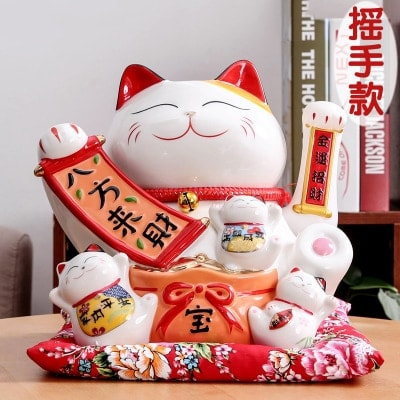 New Arrival Maneki Neko Cute Waving Cat