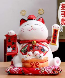Hot Selling Fortune Cat Maneki Neko Electric Shaking Hand