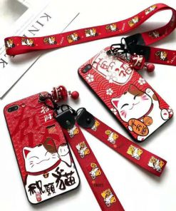 Hot Maneki Neko Fengshui Cat 2019 Iphone Cases