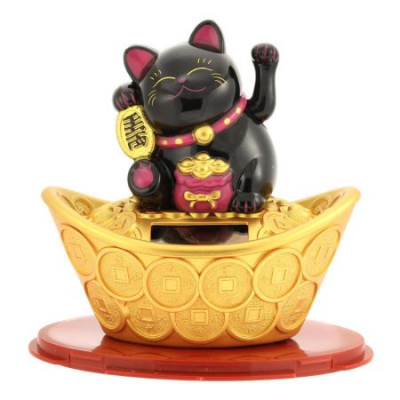 Good Luck 2019 Maneki Neko Shaking Hand
