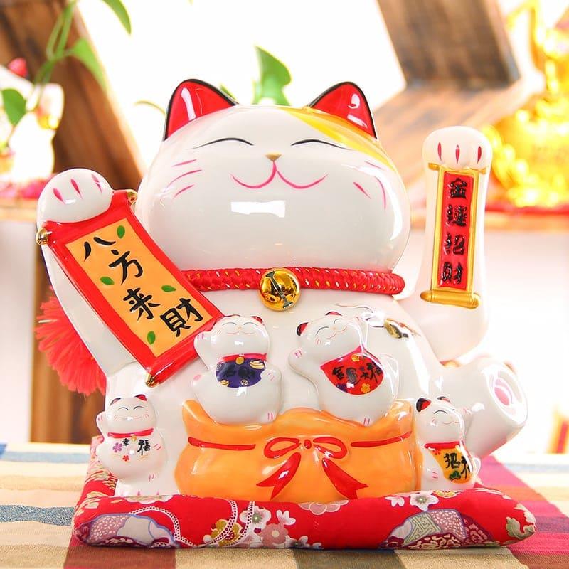 Maneki Neko Hot Fengshui Decoration