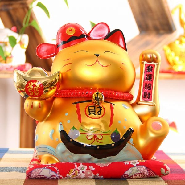 Large Size Maneki Neko Fengshui Decoration