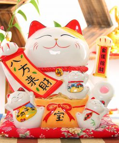 Large Size Maneki Neko Lucky Cat 2019