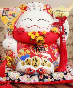 New Arrival 14 inch Maneki Neko Fortune Cat