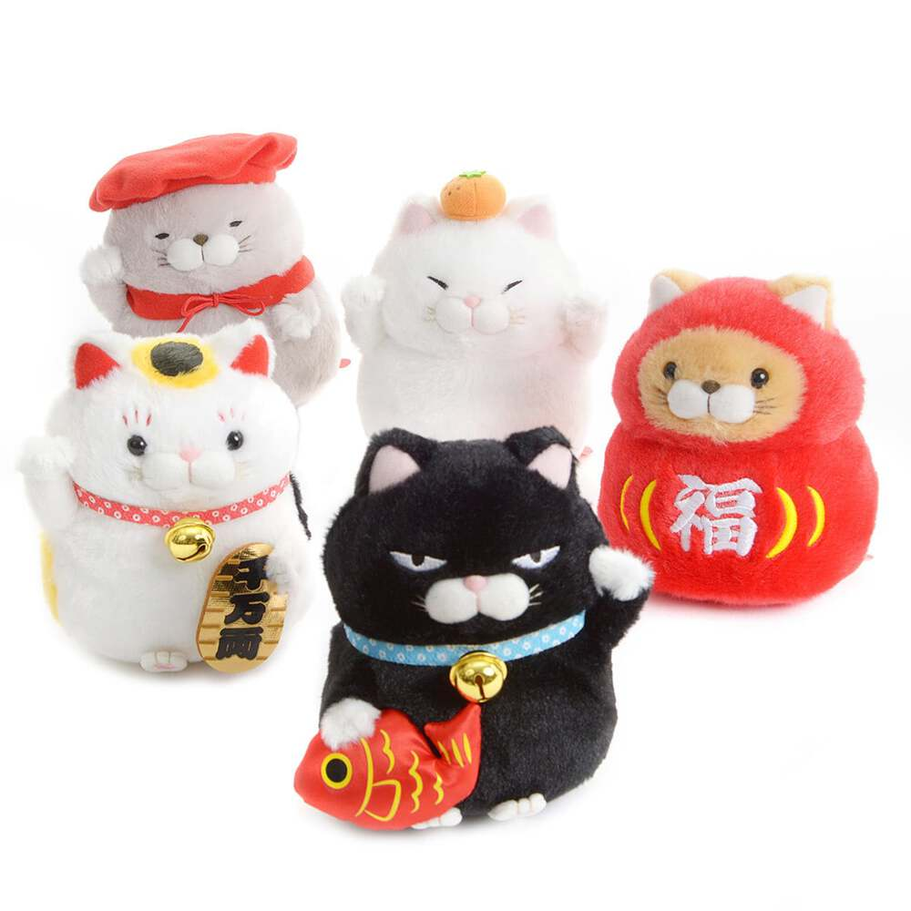 Left paw or right? Black, white or red? : Decoding the Lucky Cat
