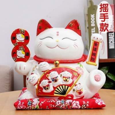 Feng Shui Cat Brings Luck, Wealth That Every Japanese Has In Their House